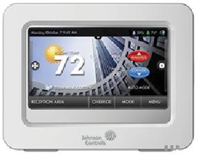 Nouveau thermostat Johnson à écran tactile